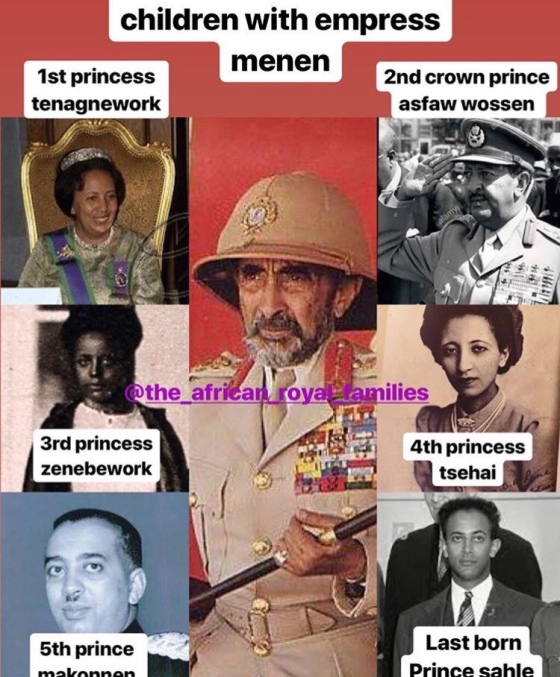Ethiopian royals – THE AFRICAN ROYAL FAMILIES